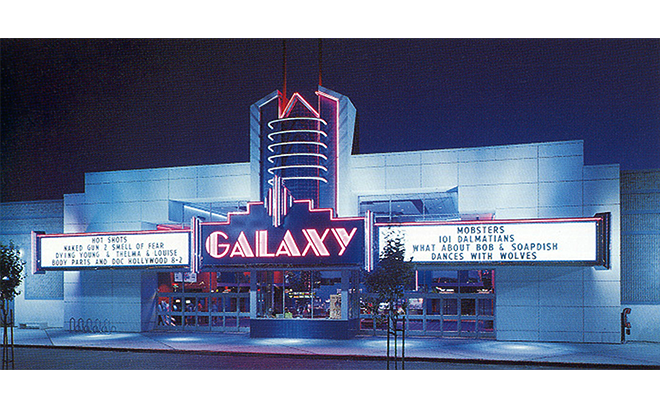 Galaxy Theater Pleasanton, CA