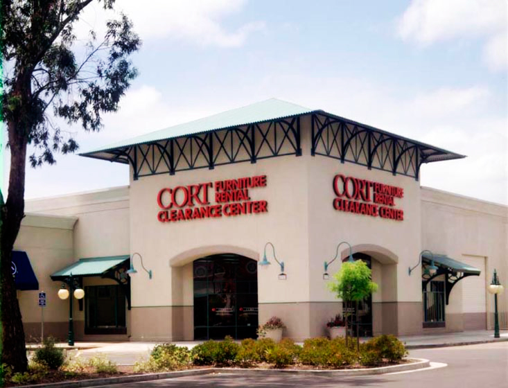 Cort Furniture Clearance Center Retail Store Newark Architectural Dimensions