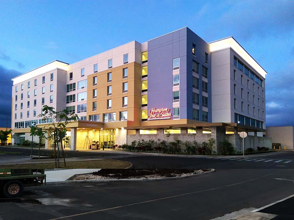 Hampton Inn Suites Kapolei Ohau Hawaii