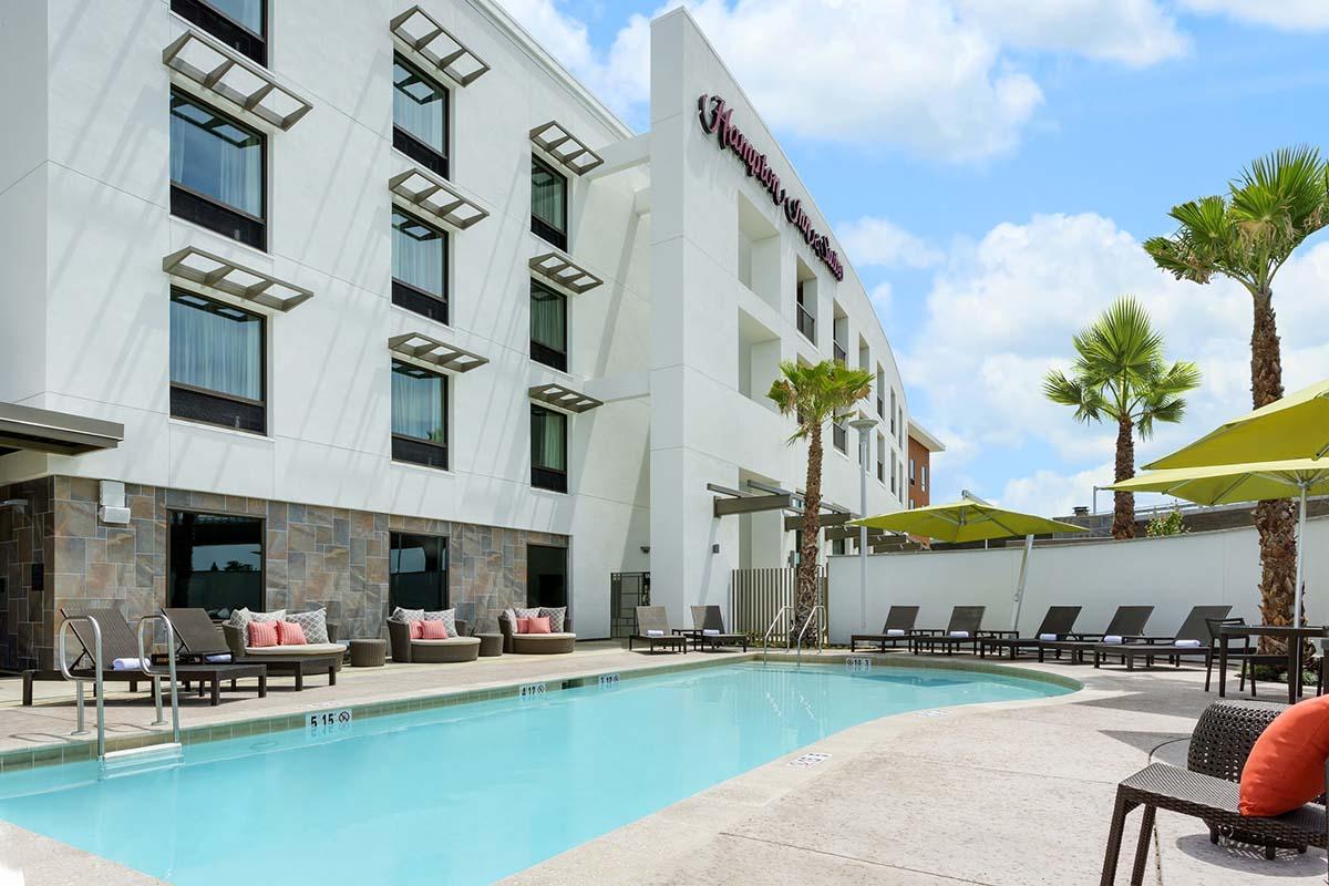 Architectural Dimensions Oakland Hampton Inn and Suites Napa California